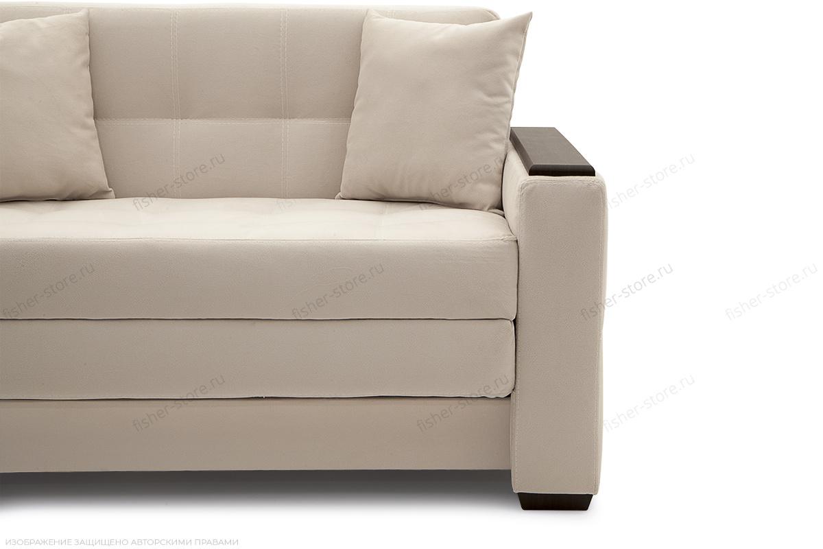 Прямой диван Этро люкс Maserati white Ножки