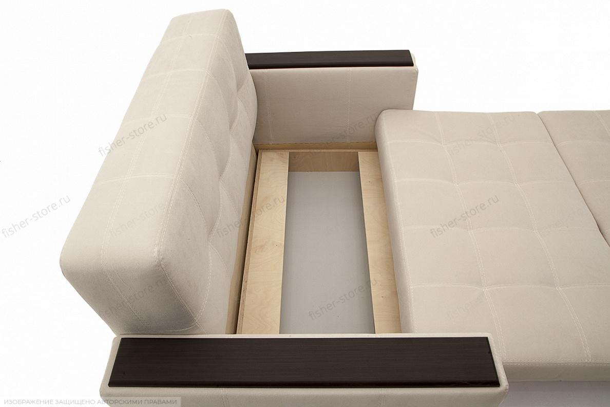 Прямой диван Этро люкс Maserati white Ящик для белья