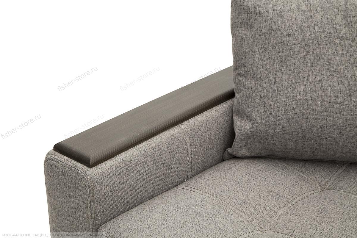 Прямой диван Этро люкс Dream Grey Подлокотник