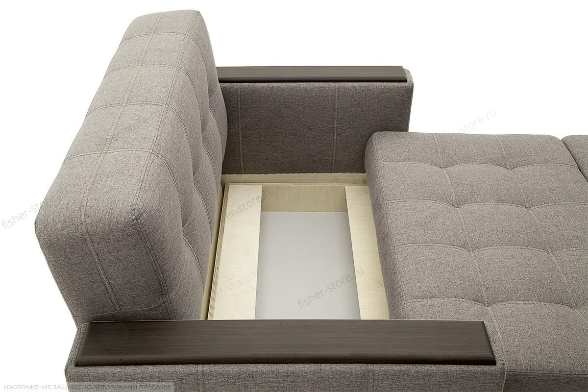 Прямой диван Этро люкс Dream Grey Ящик для белья