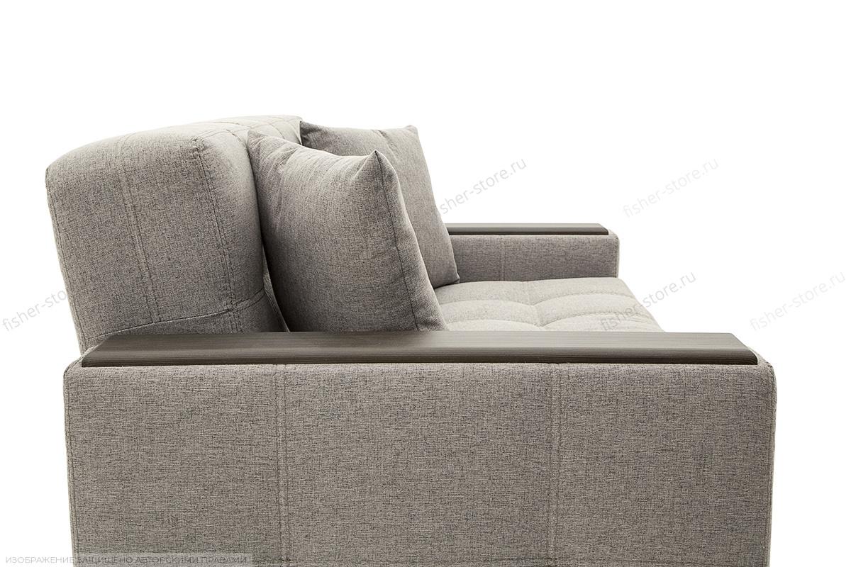 Прямой диван Этро люкс Dream Grey Текстура ткани