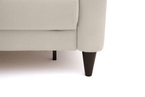 Прямой диван Джерси с опорой №5 Maserati White Ножки