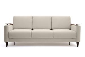 Прямой диван Джерси с опорой №5 Maserati White Вид спереди