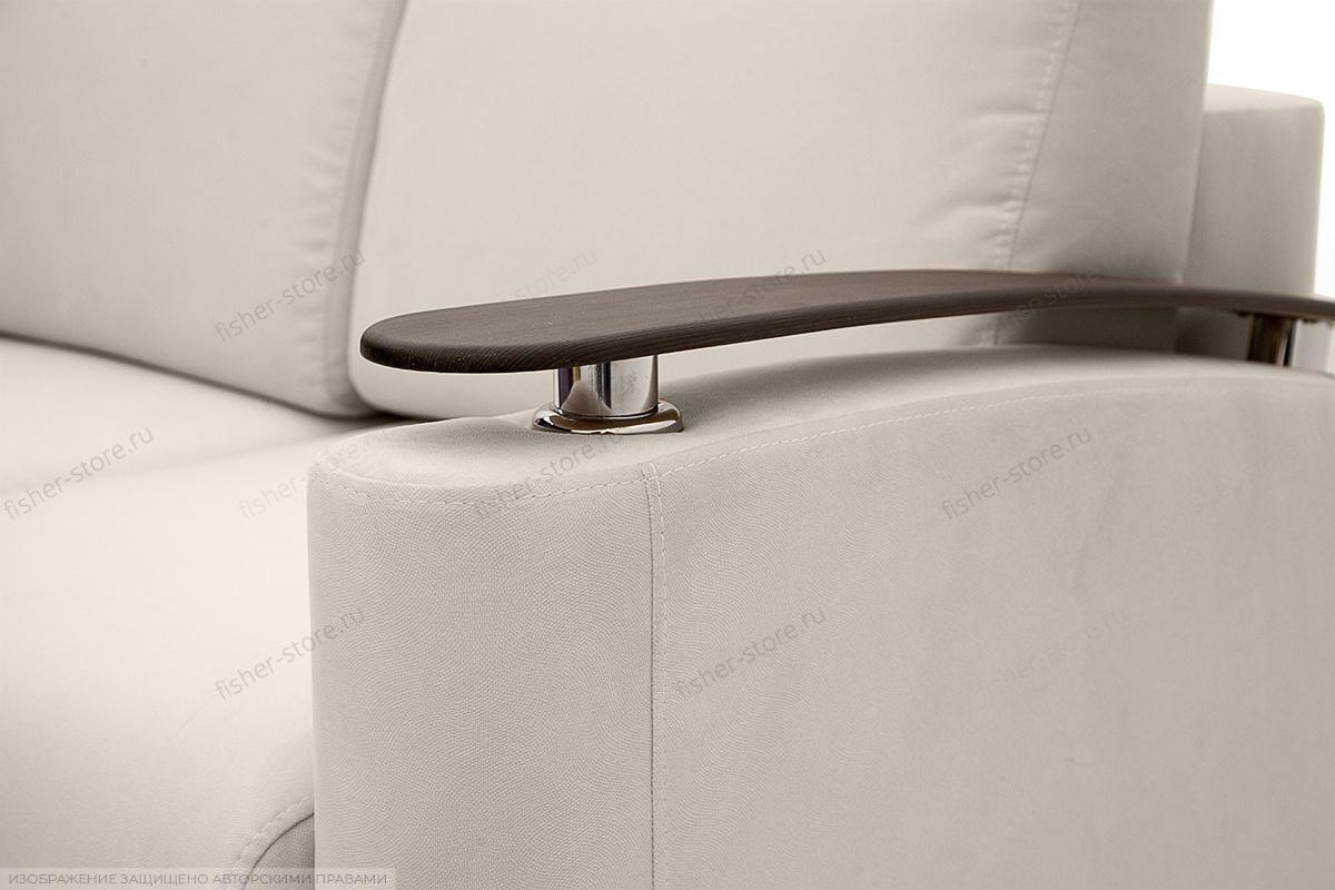 Прямой диван Джерси с опорой №5 Maserati White Подлокотник