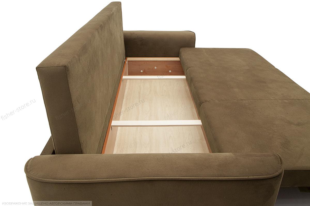 Двуспальный диван Фьюжн Maserati Light Brown Ящик для белья