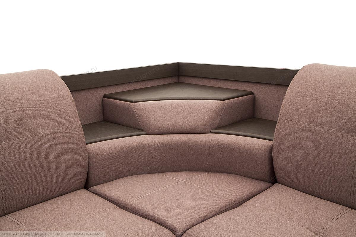 Угловой диван Норд Бахама Плюм Текстура ткани