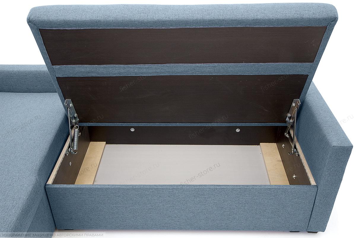 Угловой диван Парус Dream Blue Ящик для белья