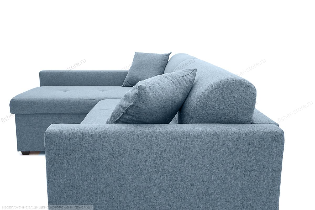 Угловой диван Парус Dream Blue Текстура ткани