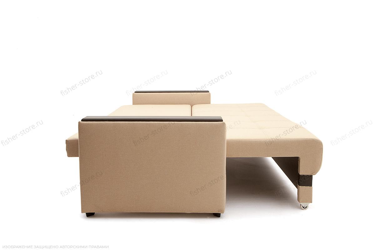 Светлый диван Атланта со столом Savana Camel + Sontex Umber Спальное место