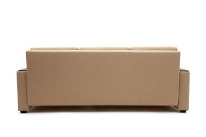 Светлый диван Атланта со столом Savana Camel + Sontex Umber Вид сзади