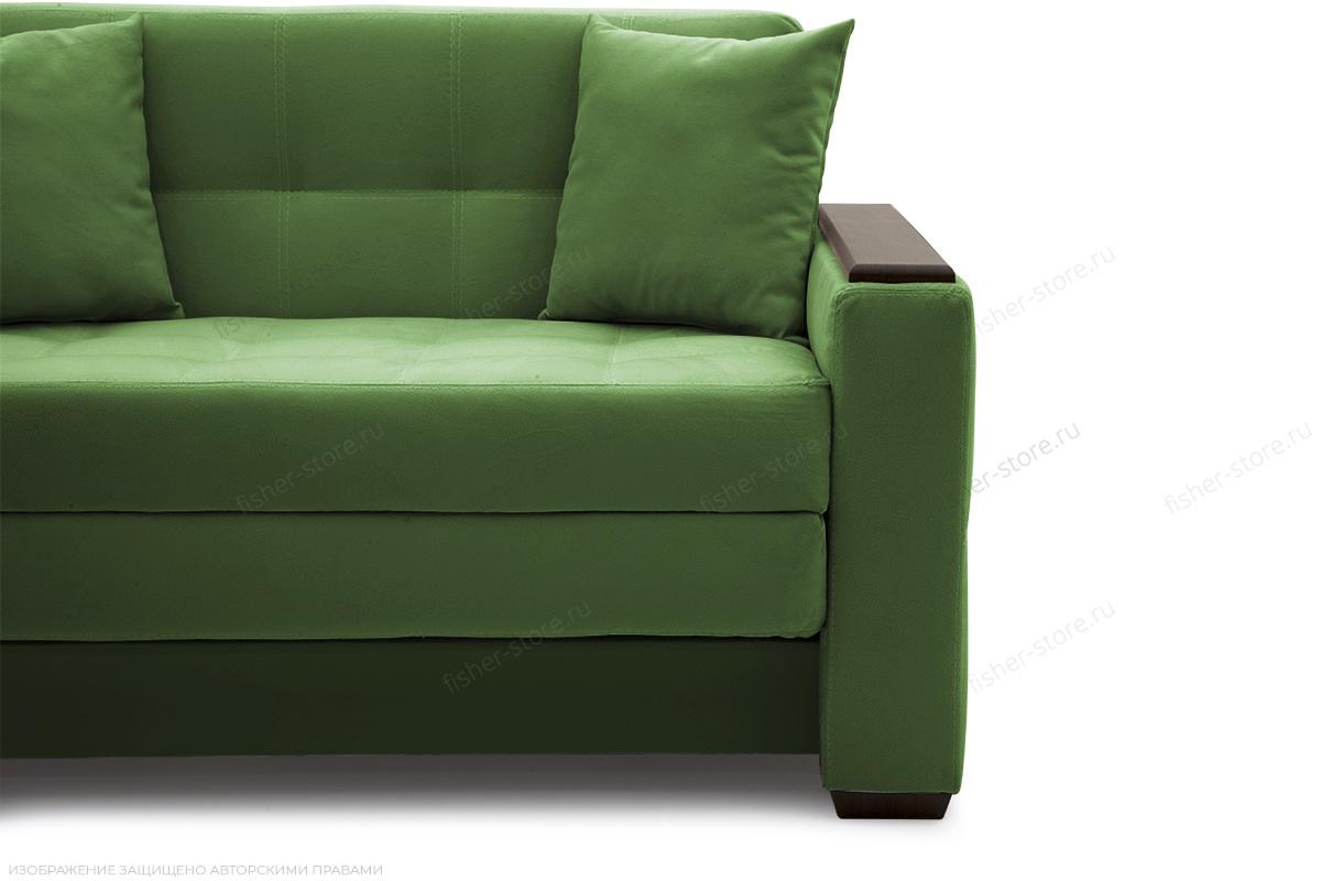 Прямой диван Этро люкс Maserati Green Ножки