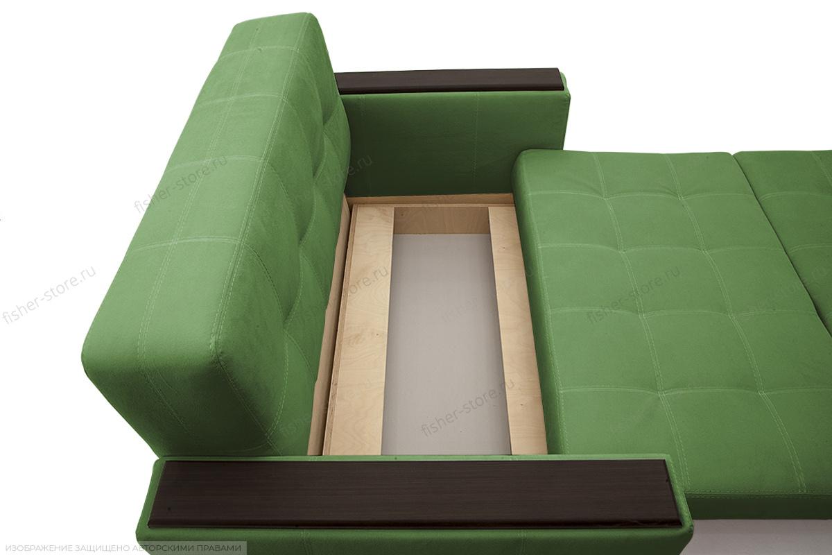 Прямой диван Этро люкс Maserati Green Ящик для белья