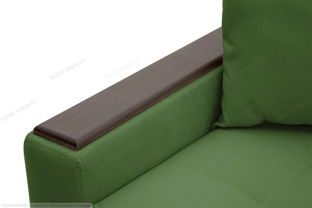 Прямой диван Этро люкс Maserati Green Подлокотник