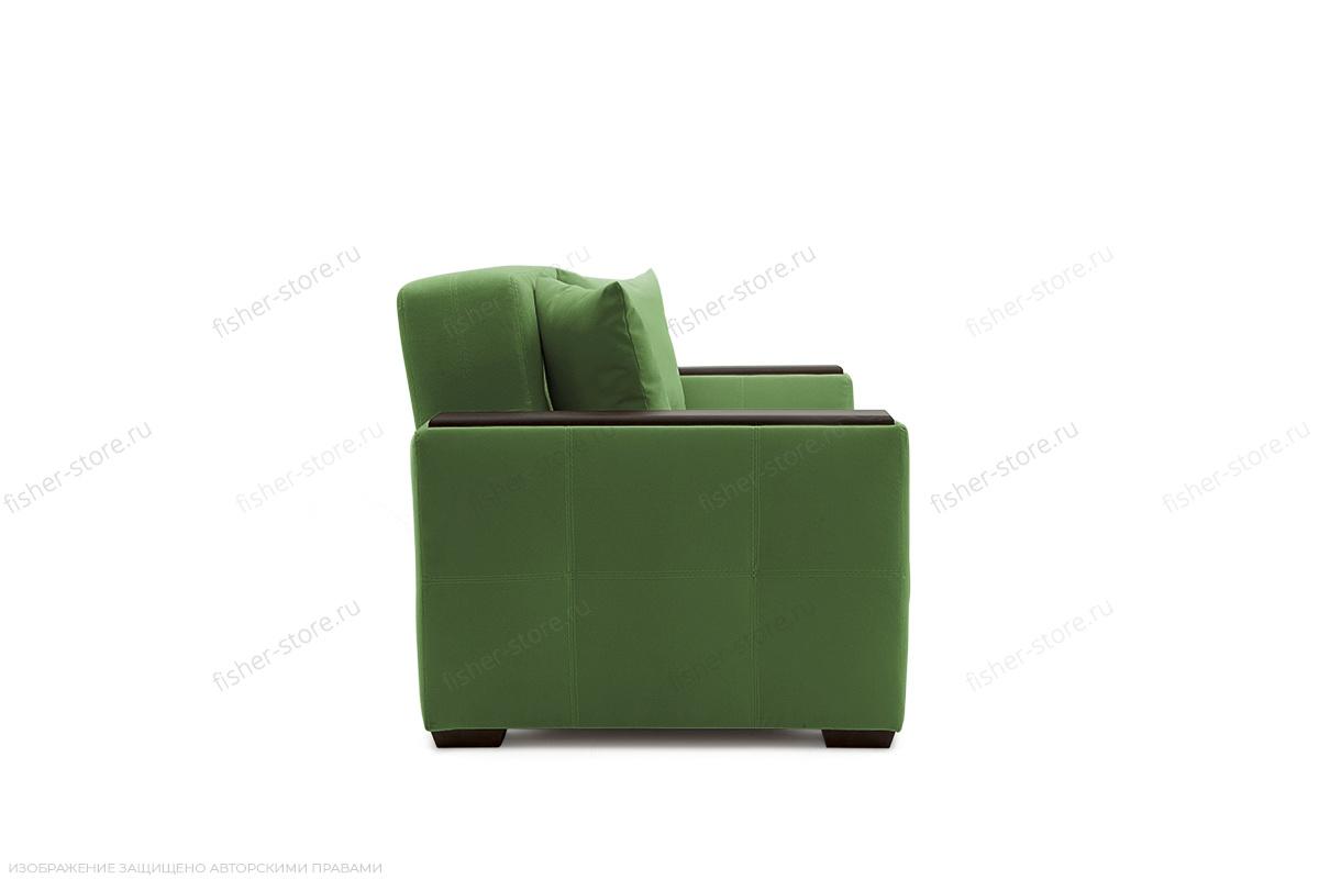 Прямой диван Этро люкс Maserati Green Вид сбоку