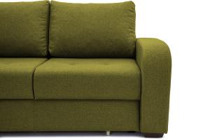 Прямой диван Селена Рогожка Savana Green Ножки