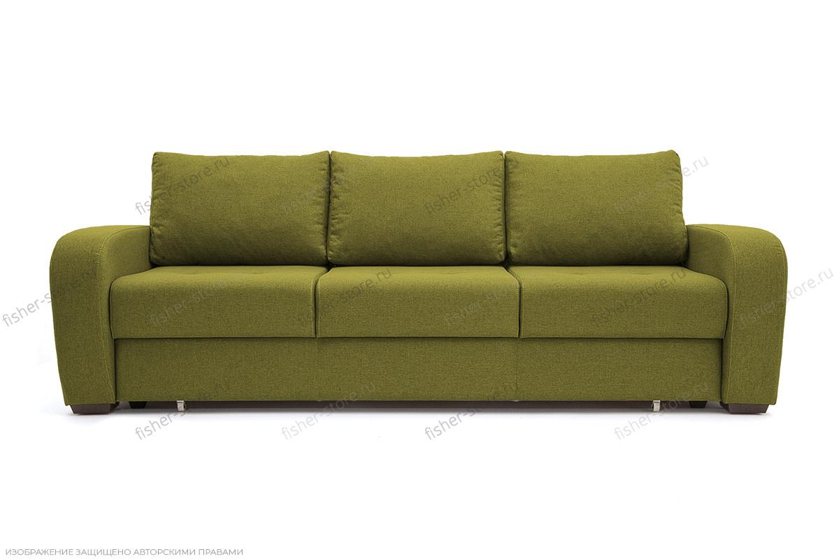 Прямой диван Селена Рогожка Savana Green Вид спереди