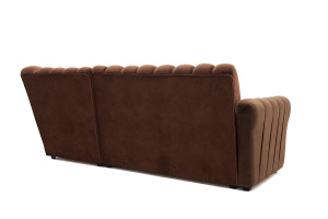 Угловой диван Престиж-8 Kengoo NUT + Kengoo Chocolate Вид сзади