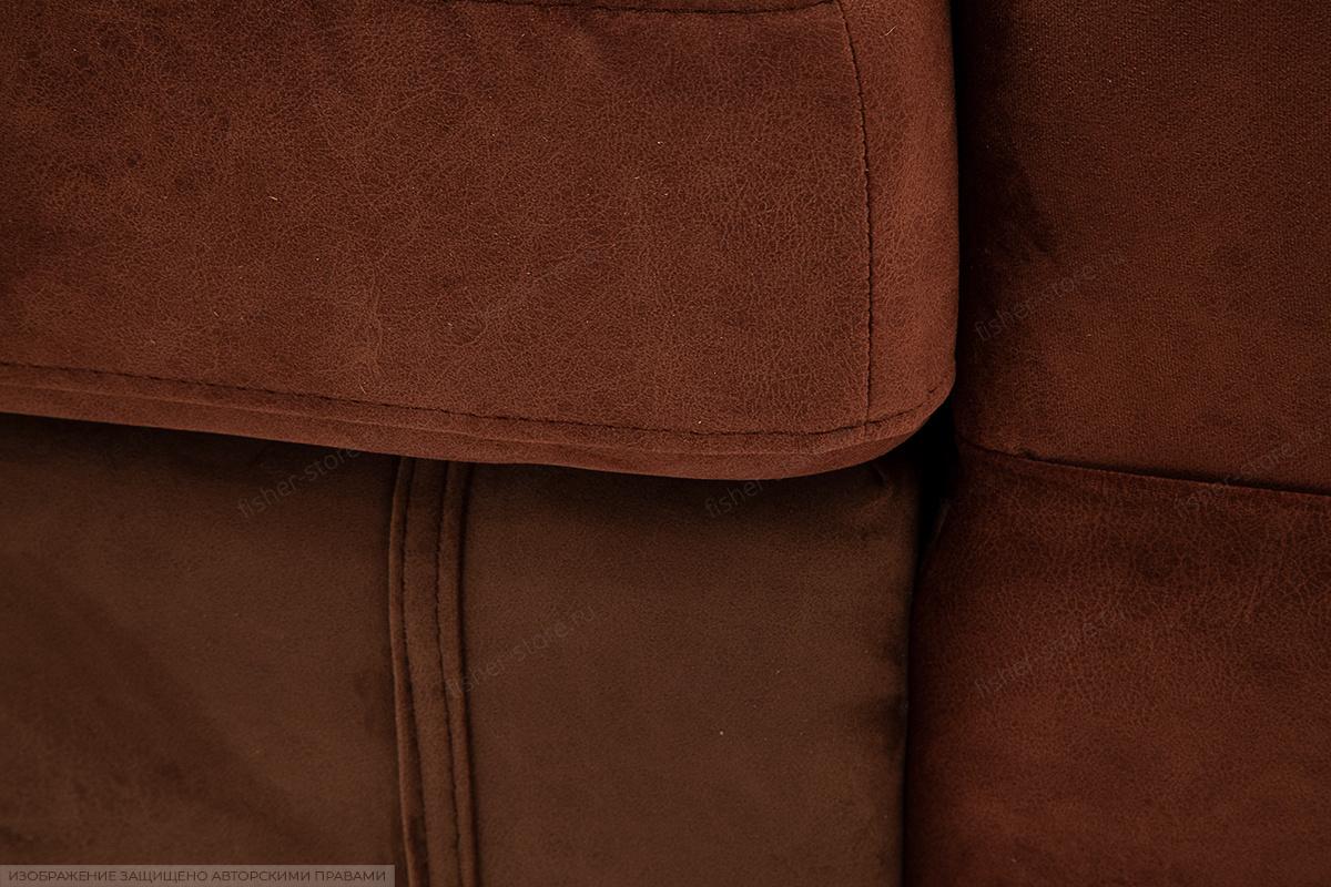 Угловой диван Престиж-8 Kengoo NUT + Kengoo Chocolate Текстура ткани