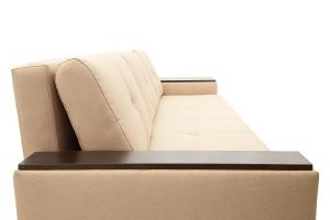 Двуспальный диван Атланта-3 эконом со столиком Savana Camel Подушки
