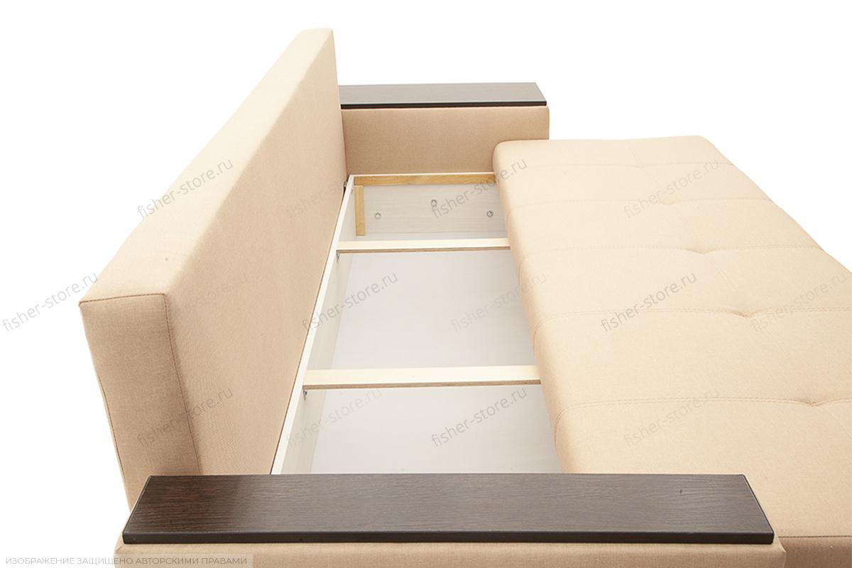 Двуспальный диван Атланта-3 эконом со столиком Savana Camel Ящик для белья