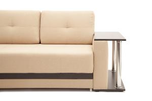Двуспальный диван Атланта-3 эконом со столиком Savana Camel Ножки