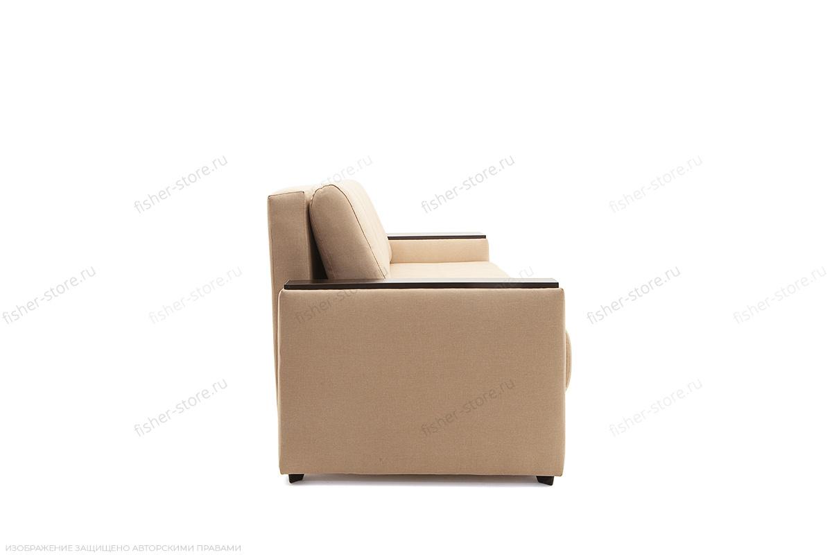 Двуспальный диван Атланта-3 эконом со столиком Savana Camel Вид сбоку