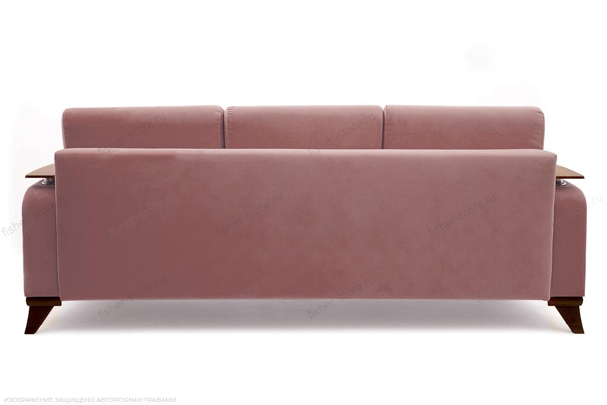 Прямой диван Джерси-3 с опорой №6 Maserati Light Violet Вид сзади