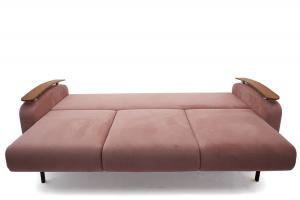 Прямой диван Джерси-3 с опорой №6 Maserati Light Violet Спальное место