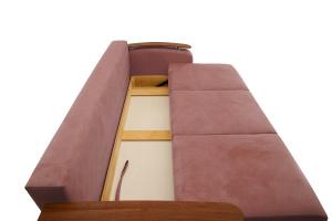 Прямой диван Джерси-3 с опорой №6 Maserati Light Violet Ящик для белья