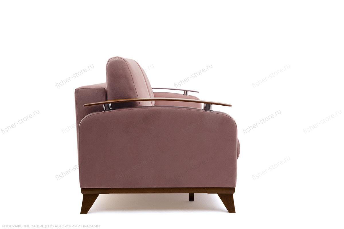 Прямой диван Джерси-3 с опорой №6 Maserati Light Violet Вид сбоку