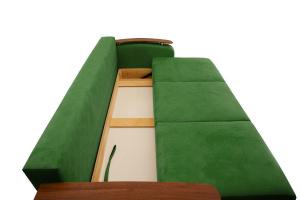 Прямой диван Джерси-3 с опорой №6 Maserati Green Ящик для белья