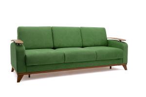 Прямой диван Джерси-3 с опорой №6 Maserati Green Вид сбоку