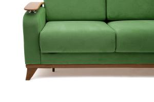 Прямой диван Джерси-3 с опорой №6 Maserati Green Ножки