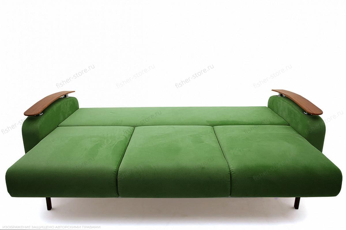 Прямой диван Джерси-3 с опорой №6 Maserati Green Спальное место