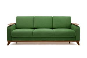 Прямой диван Джерси-3 с опорой №6 Maserati Green Вид спереди