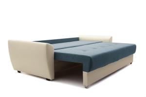 Прямой диван Винтаж Dream Blue + Sontex Milk Спальное место