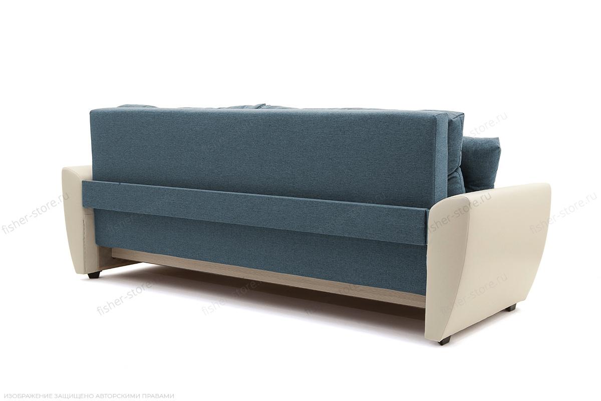 Прямой диван Винтаж Dream Blue + Sontex Milk Вид сзади
