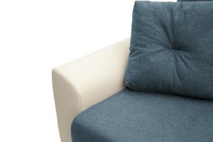 Прямой диван Винтаж Dream Blue + Sontex Milk Подлокотник