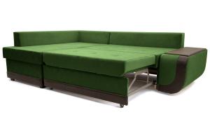 Угловой диван Нью-Йорк-2 Maserati Green + Sontex Umber Спальное место