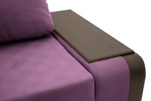 Угловой диван Нью-Йорк-2 Maserati Purple + Sontex Umber Подлокотник