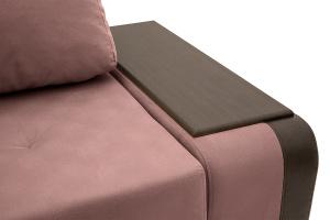 Угловой диван Нью-Йорк-2 Maserati Light Violet + Sontex Umber Подлокотник
