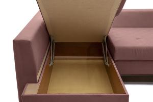 Угловой диван Нью-Йорк-2 Maserati Light Violet + Sontex Umber Ящик для белья