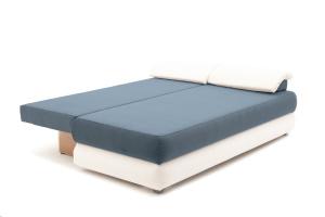 Прямой диван Фиджи Maserati Grey-blue + White Спальное место