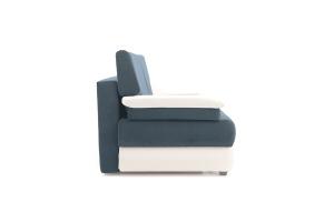 Прямой диван Фиджи Maserati Grey-blue + White Вид сбоку