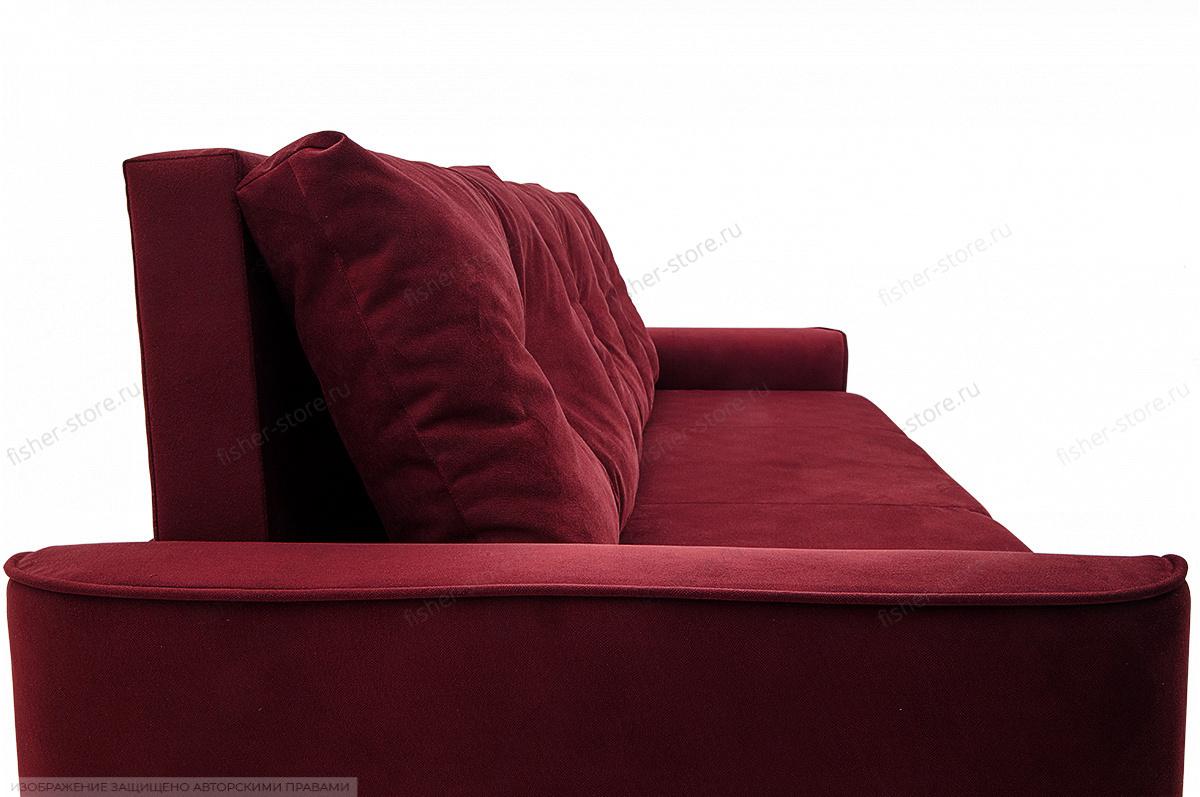 Прямой диван Фьюжн Maserati Red Текстура ткани