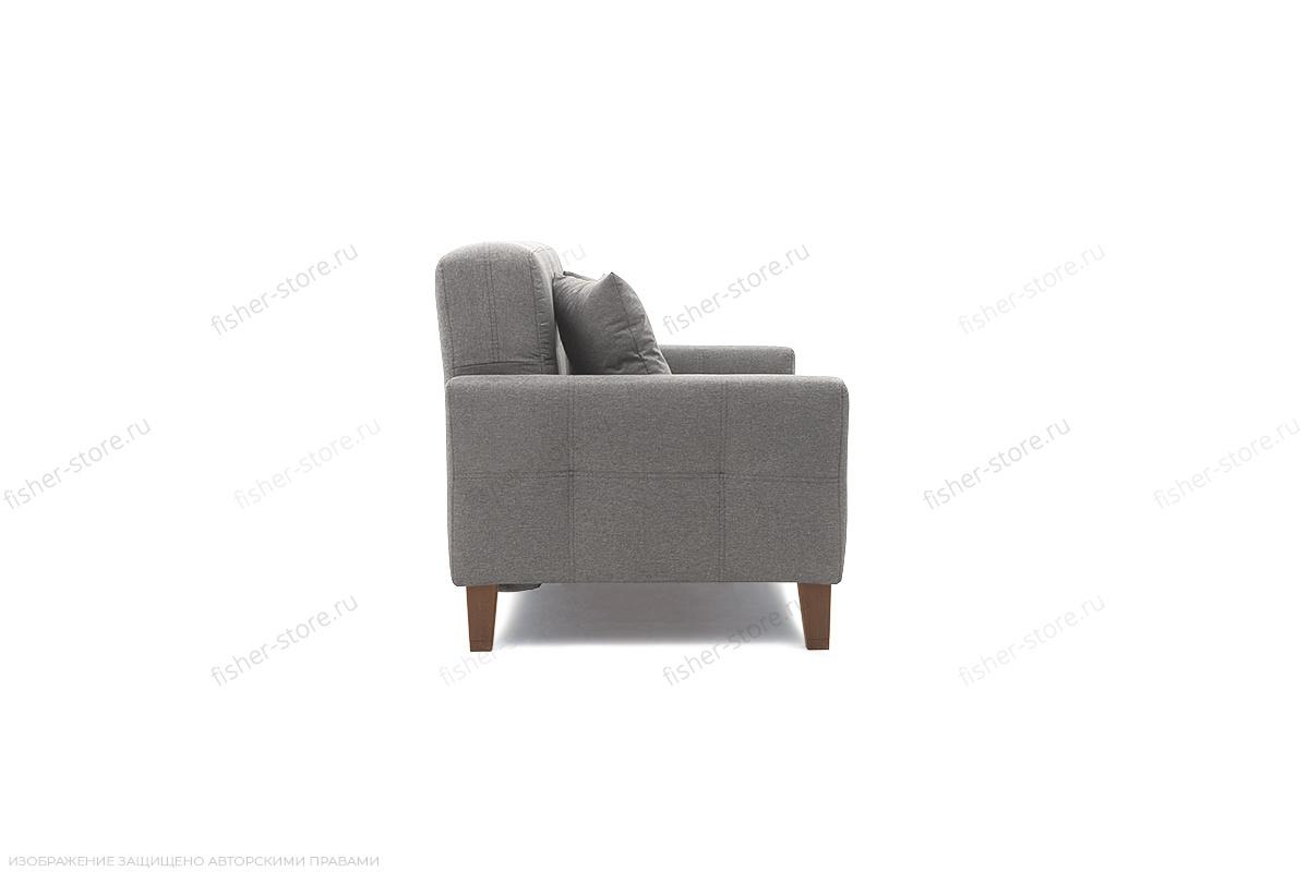 Прямой диван Этро люкс с опорой №3 Dream Grey Вид сбоку
