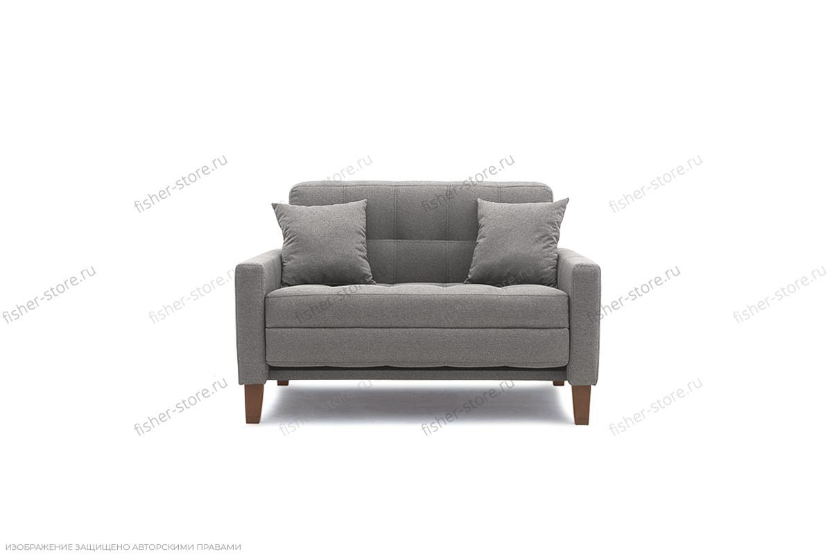 Прямой диван Этро люкс с опорой №3 Dream Grey Вид спереди
