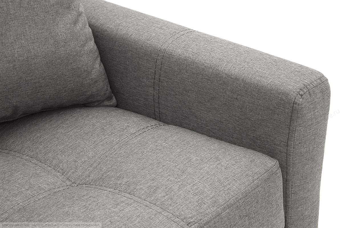 Прямой диван Этро люкс с опорой №3 Dream Grey Подлокотник