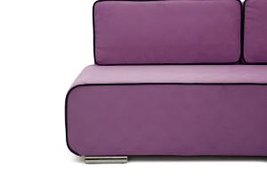 Прямой диван Лаки Maserati Purple + Black Ножки