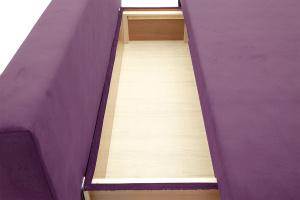 Прямой диван еврокнижка Фиджи Maserati Purple + White Ящик для белья
